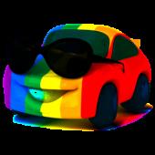 auto w okularch